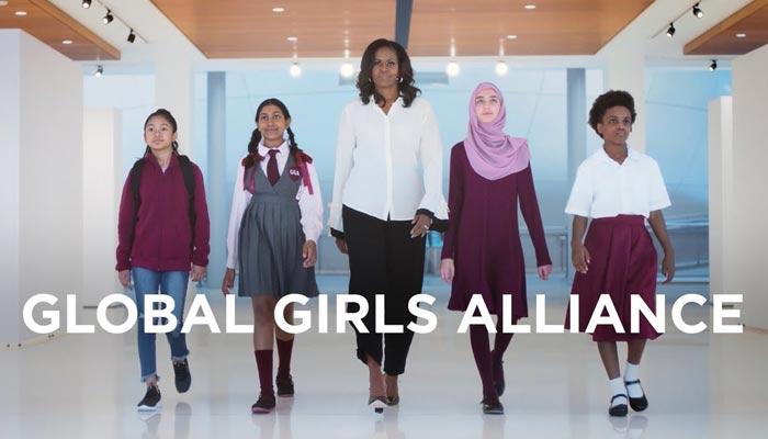 مشیل اوباما لڑکیوں کی تعلیم کے لیے کام کریں گی