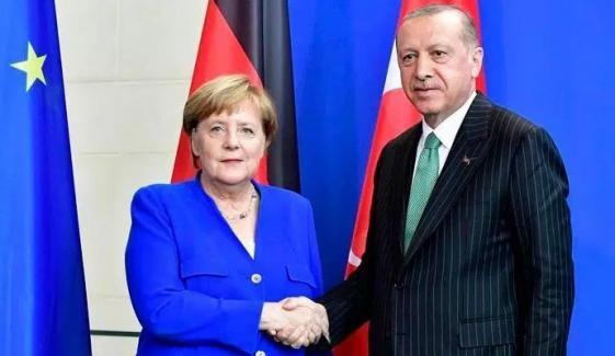 Merkel Gives Cold Shoulder To Erdogans Offer Of De Escalation