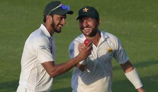 Dubai Test Pakistan Vs New Zealand