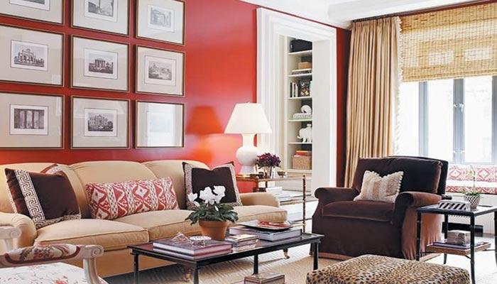 ''لیونگ کورل'' نئے سال کے رنگ کو گھر کا حصہ بنائیں