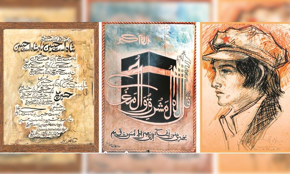 یادوں کے جھروکے سے عکس درعکس تصویر کشی ''صادقین''