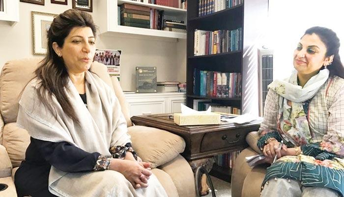 ٹیکساس میں پاکستان کی قونصل جنرل، عائشہ فاروقی سے گفتگو