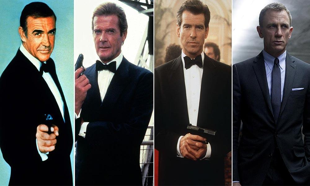 ''جیمزبانڈ'' دنیائے فلم کی سب سے طویل، مالی طور پر نہایت کامیاب فرنچرائز فلم سیریز