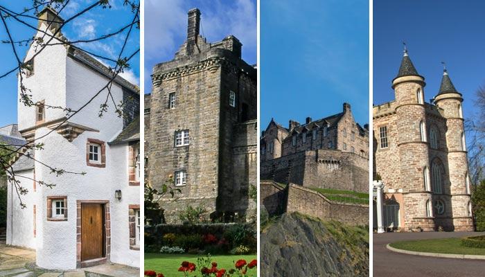 اسکاٹ لینڈ کی دل آویز تاریخی عمارتیں
