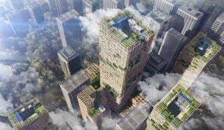 Worlds Tallest Timber Building