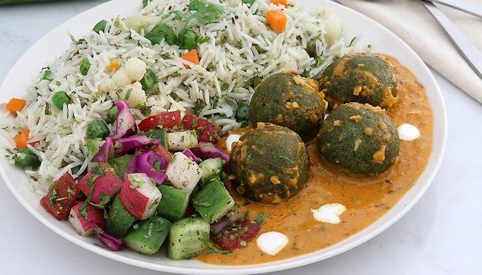 ہرے پتوں والی سبزی.... پالک