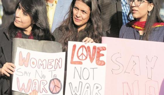 No To War