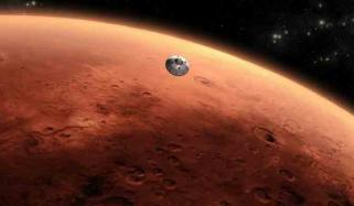 Water System Discoverd In Mars