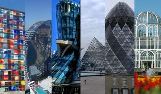Famous Buildings Made Of Glasses