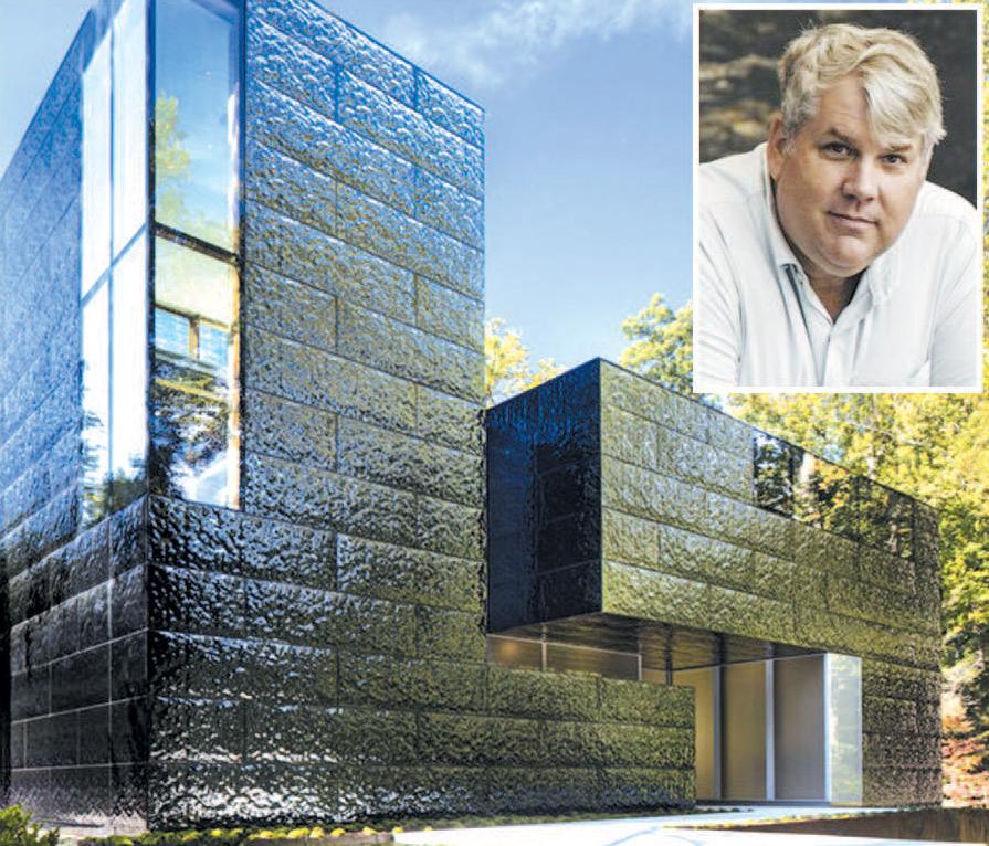 امریکی ارکیٹیکٹ کا تصوراتی گھر