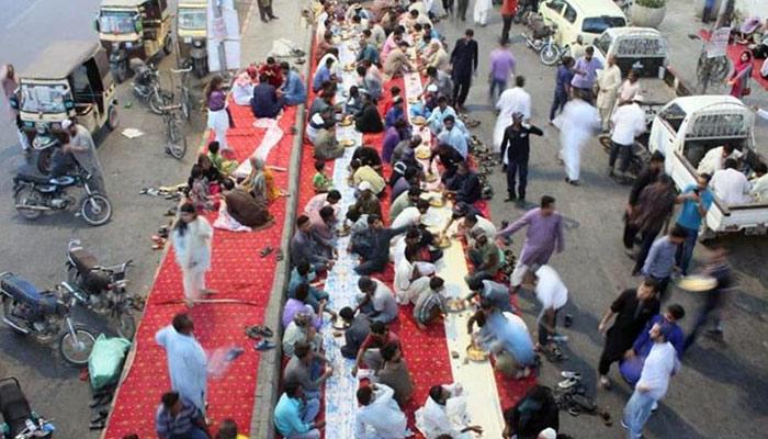 کراچی میں رمضان کی رونقیں