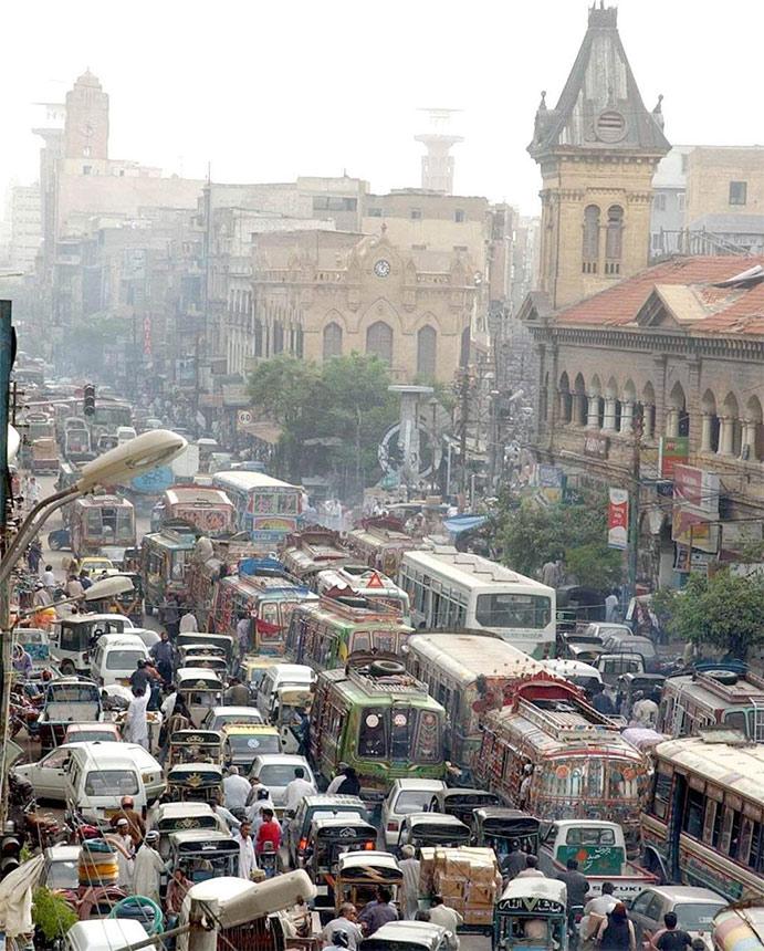 کراچی کے مسائل کا بالواسطہ تعلق بڑھتی ہوئی آبادی سے ہے