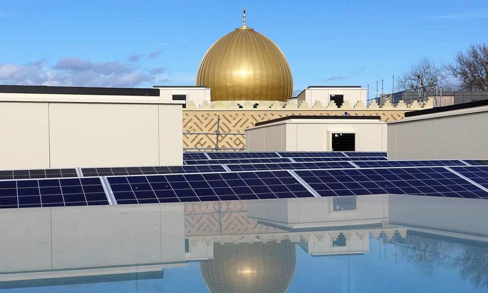 ''کیمبرج سینٹرل مسجد''یورپ کی سب سے ماحول دوست مسجد