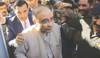 Former Pakistan President Zardari Arrested