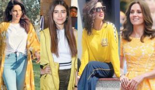 Yellow Color Fashion Trend Of Summer
