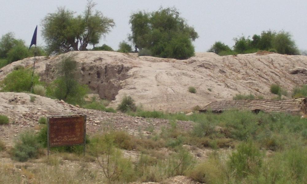 ''آمری'' جام شورو کے قریب پانچ ہزار سالہ قدیم گاؤں