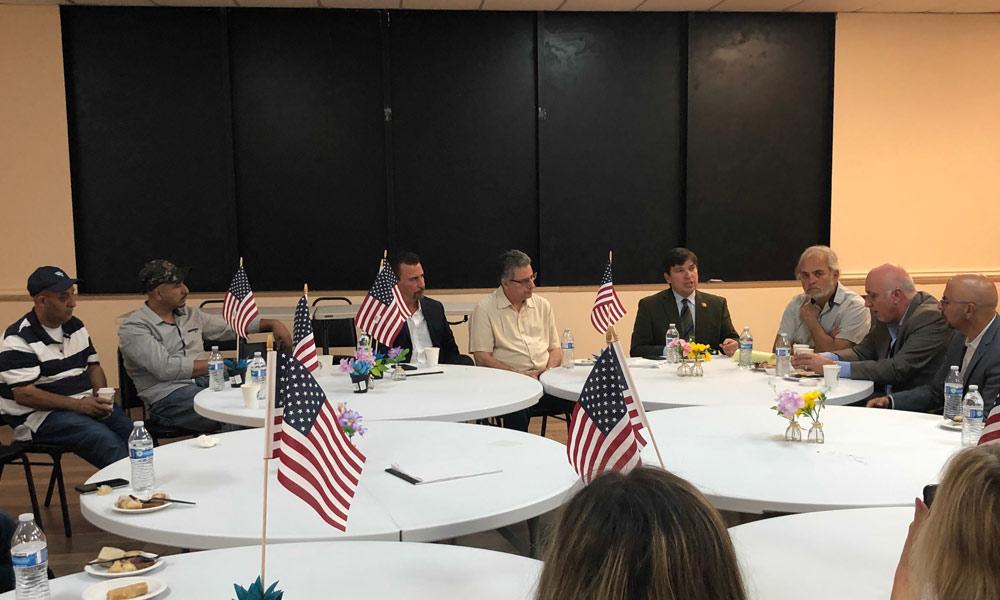 رکن کانگریس مین ویسنتے غنزالز کی انسانی حقوق تنظیموں کے رہنماؤں سے ملاقات