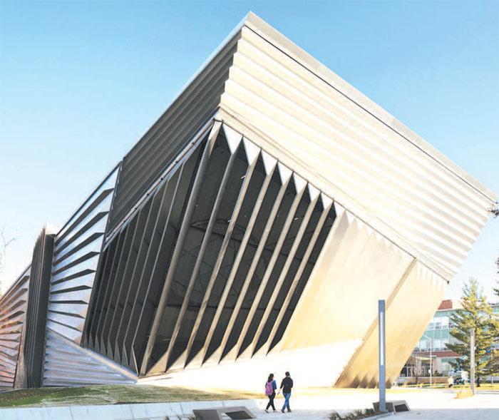 میوزیم آرکیٹیکچر کے دیدہ زیب ڈیزائن