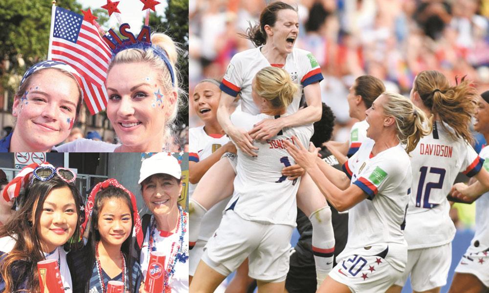 خواتین فٹبال ورلڈ کپ، امریکا ایک پھر چیمپئن بن گیا