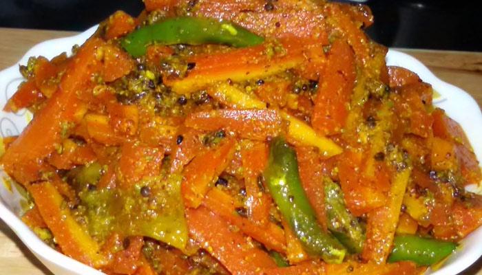 مختلف سبزیوں کا اچار کھٹا ،میٹھا اور چٹ پٹا