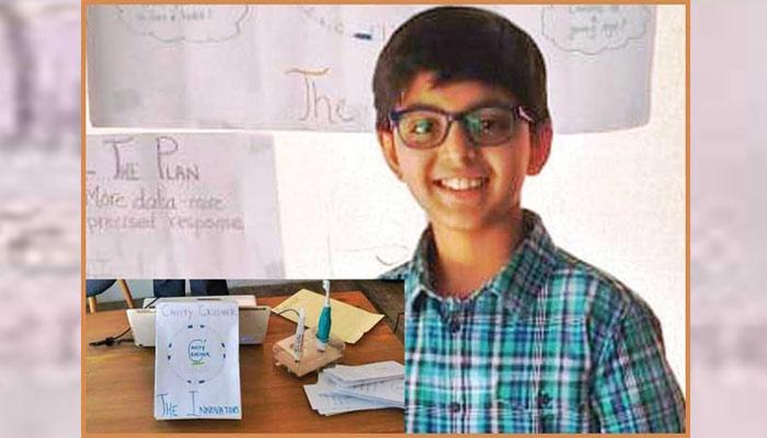10سالہ ذہین اور باصلاحیت پاکستانی بچہ ''یاسر سلمان''
