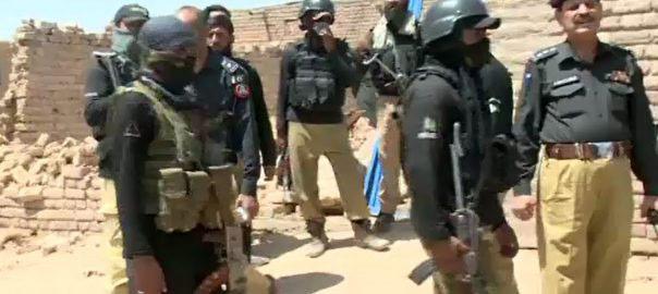 ''سندھ میں گرینڈ آپریشن'' 15روز میں 4ہزار سے زائد ملزمان گرفتار
