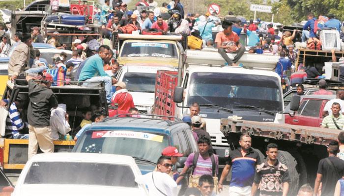وینزویلا سے ترک وطن کا بحران