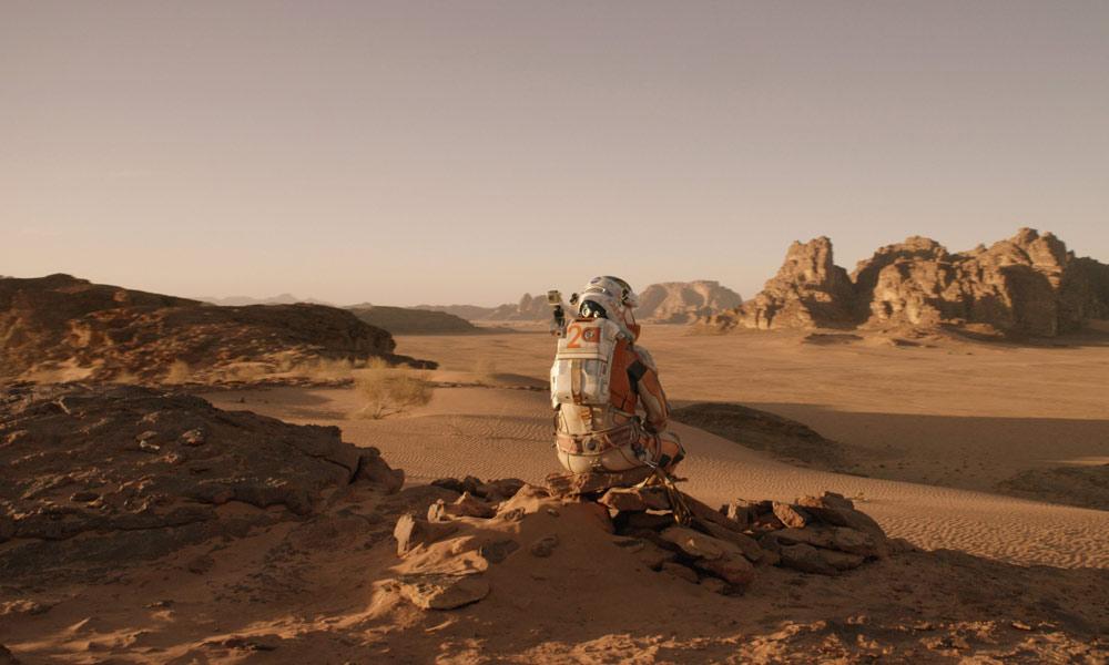 مقبول ناول''The Martian''