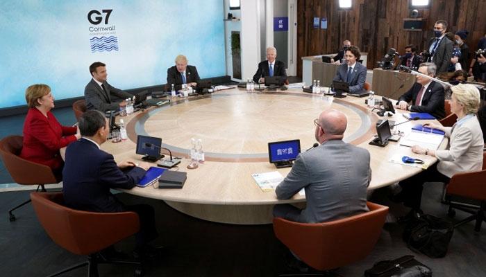 جی سیون ممالک کا اجلاس