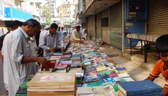 ریگل چوک کی ایک گلی یہاں کتابوں کا اتوار بازار لگتا ہے