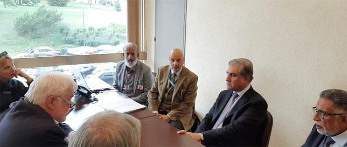 جینوا میں کشمیر کے موضوع پر سیمینار