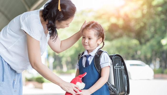 بچے کے 'اسکول کا پہلا دن'