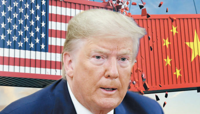 چین اور امریکا کی علیحدگی کے بارے میں ٹرمپ کی سنجیدگی