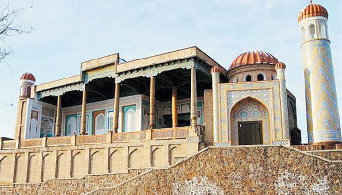 سمر قند شہر کی تاریخی عمارات