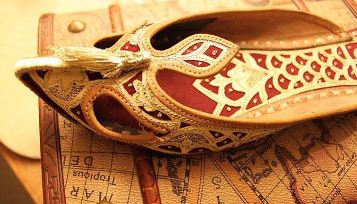 '' جتی'' سندھ کی روایتی جوتی، جو گزشتہ ایک صدی سے مقبول ہے