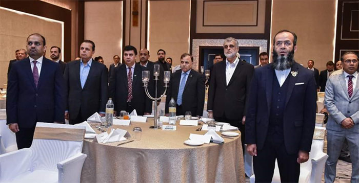 سفیر پاکستان غلام دستگیر کے اعزاز میں عشائیہ