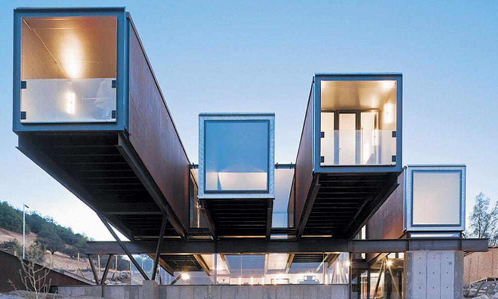 موحول دوست عمارات کے منفرد تعمیراتی تصورات