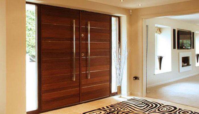 لکڑی کے دروازوں کے مختلف و منفرد ڈیزائن
