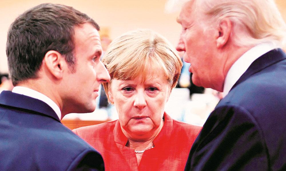امریکا، یورپ میں بڑھتے فاصلے