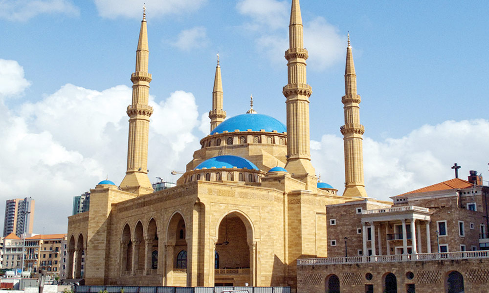 بیروت کی حیران کن تعمیرات