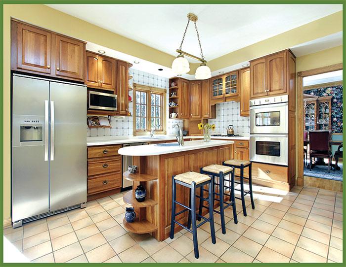 باورچی خانے کے فرش کیلئے مٹیریل کا انتخاب