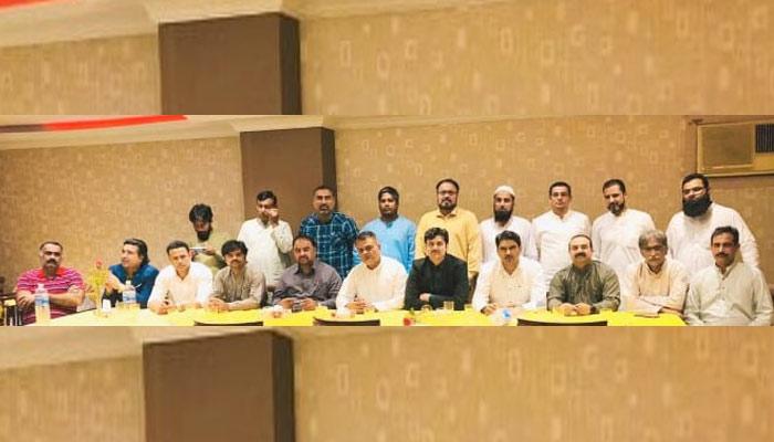 پی ٹی آئی سعودی عرب کا اجلاس