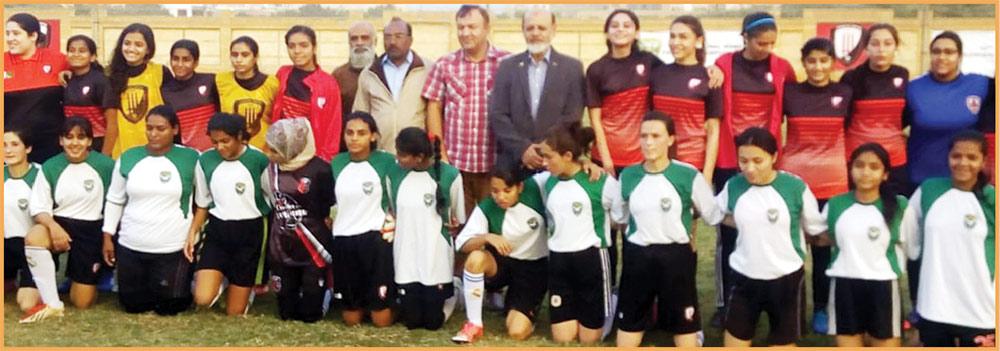 کراچی یونائیٹڈ کی قومی خواتین فٹ بال میں شاندار کارکردگی