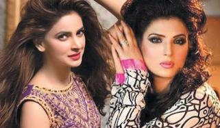 Resham And Saba Qamar