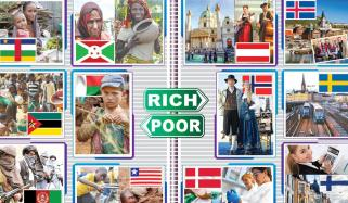 Poor And Rich Countries