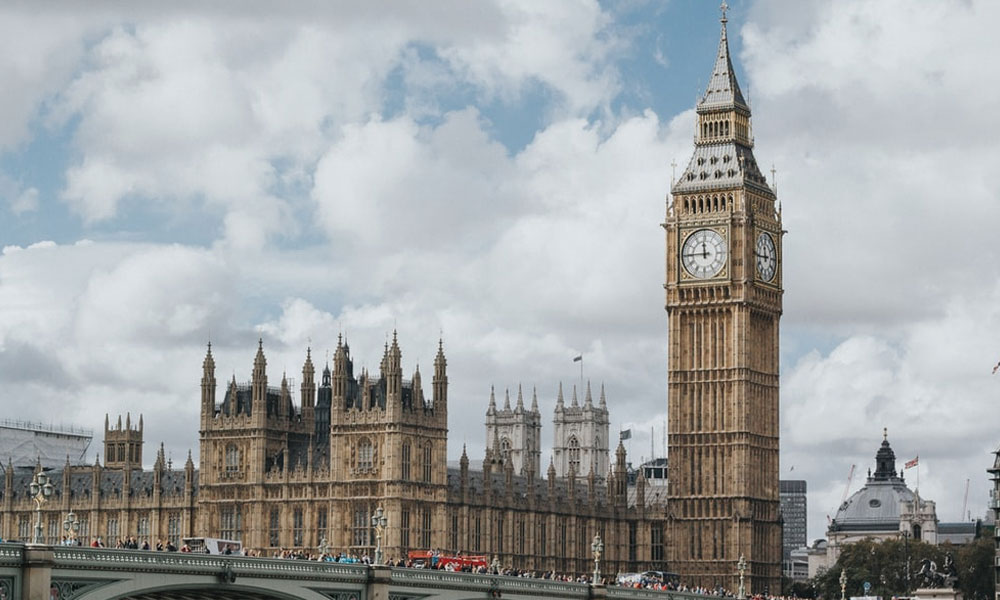 'لندن ' جدید و قدیم عمارتوں کا شہر