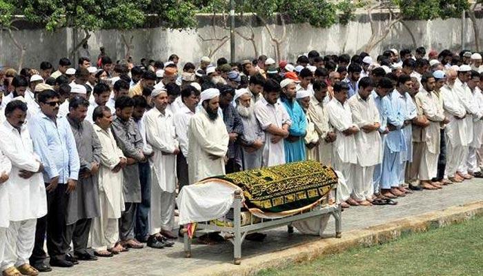 تدفین سے قبل دعائے مغفرت اور میّت کو سردخانے میں رکھنا