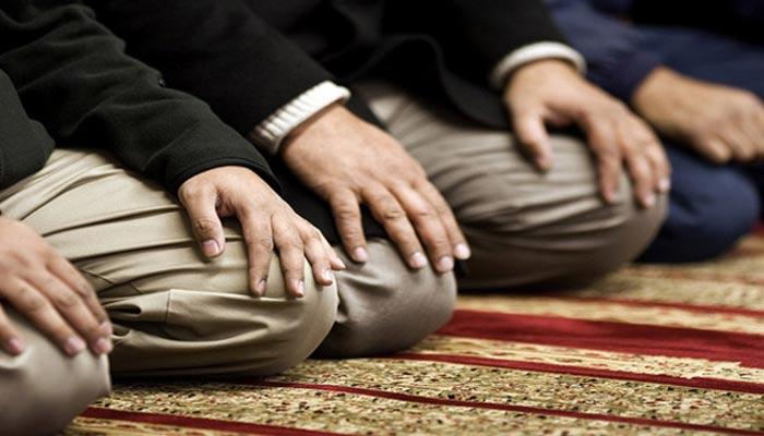 دفتر میں انفرادی طور پر نماز کی ادائیگی