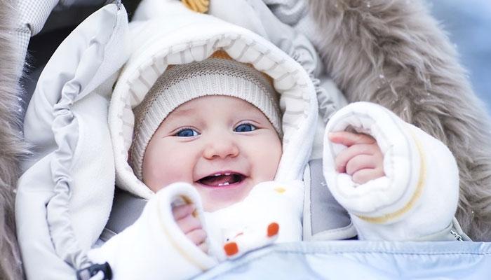سرد موسم اور نوزائیدہ بچے