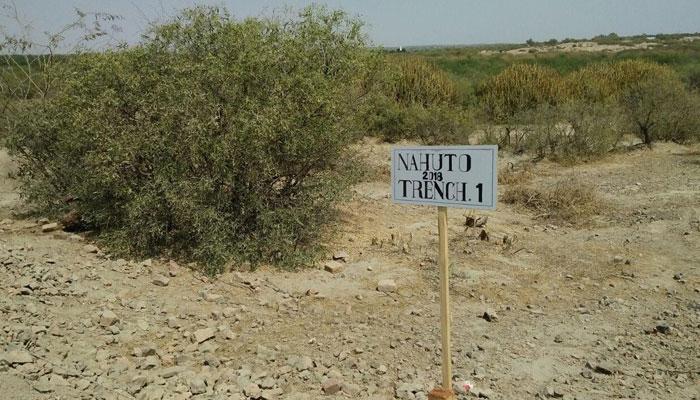 ''نوہٹو'' ایک گم گشتہ شہر، جس کے قدیم آثار کی کھدائی جاری ہے